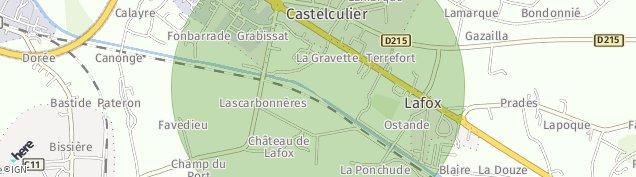 Carte de Castelculier