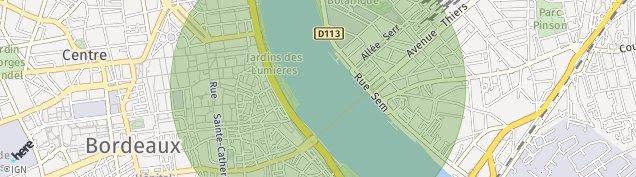 Carte de Bordeaux