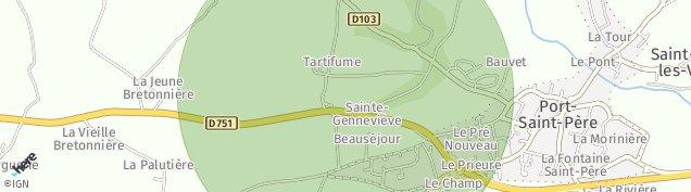 Carte de Port-Saint-Père