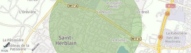 Carte de Saint-Herblain