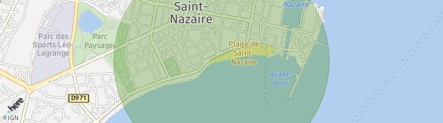 Carte de Saint-Marc-sur-Mer