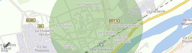 Carte de Amboise