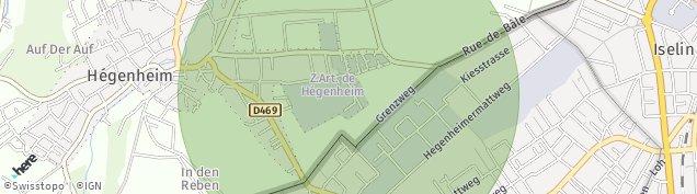 Carte de Hégenheim