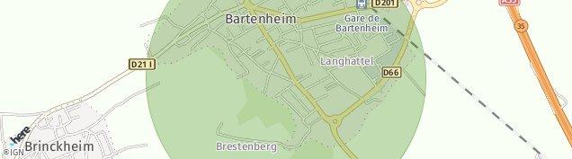 Carte de Bartenheim