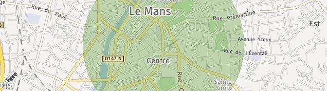 Carte de Le Mans