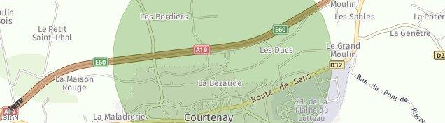 Carte de Courtenay