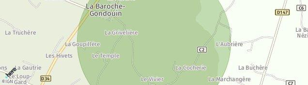 Carte de La Baroche Gondouin