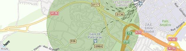 Carte de Palaiseau