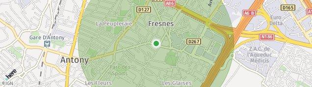 Carte de Fresnes