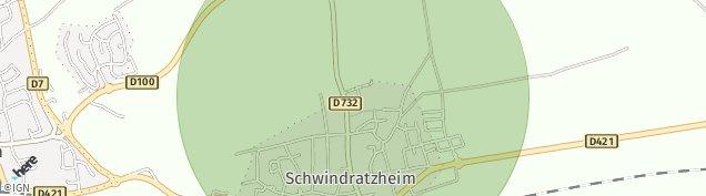 Carte de Schwindratzheim