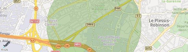 Carte de Meudon-la-Forêt