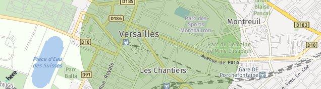 Carte de Versailles