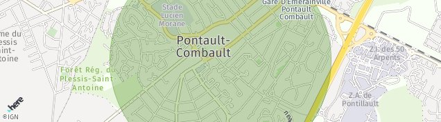 Carte de Le Pave-de-Pontault