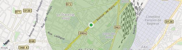 Carte de Châtillon