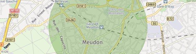 Carte de Meudon