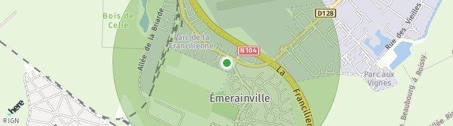 Carte de Émerainville