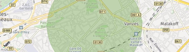 Carte de Issy-les-Moulineaux