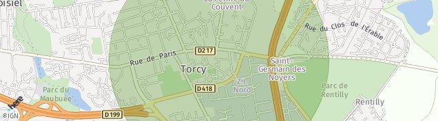 Carte de Torcy