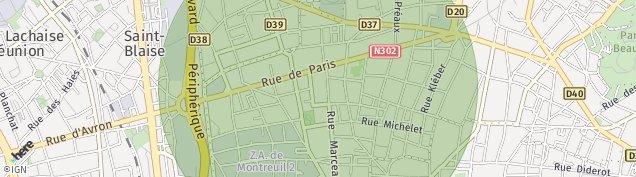 Carte de Vincennes