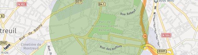 Carte de Fontenay-sous-Bois