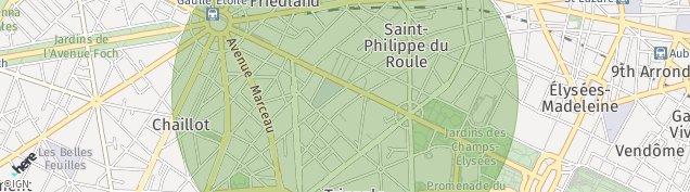 Carte de Paris