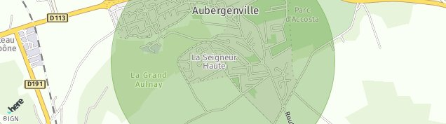 Carte de Aubergenville