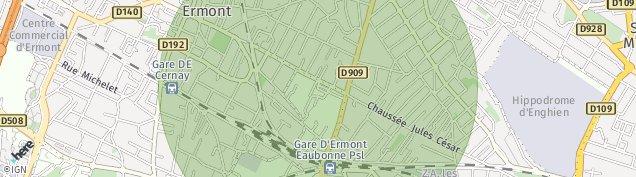 Carte de Eaubonne