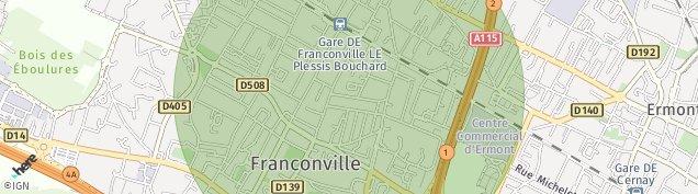 Carte de Le Plessis-Bouchard