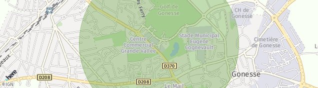 Carte de Arnouville