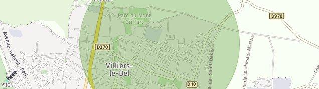 Carte de Villiers-le-Bel