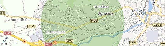 Carte de Agneaux