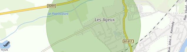 Carte de Pont-Sainte-Maxence
