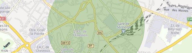 Carte de Soissons