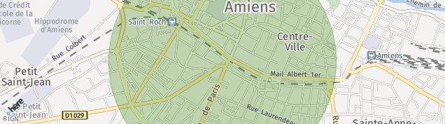 Carte de Amiens
