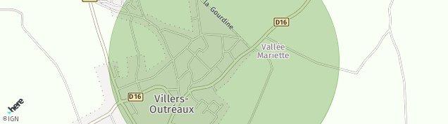 Carte de Villers-Outréaux
