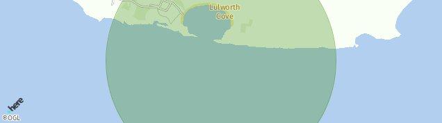 Map of West Lulworth