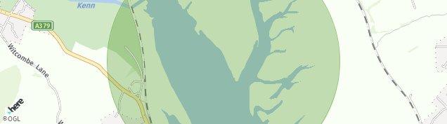 Map of Starcross