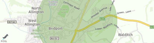 Map of Bridport