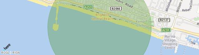Map of Brighton Marina Village
