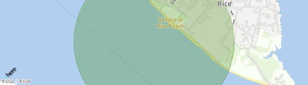 Map of Hamble