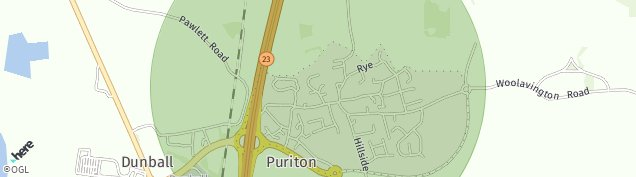 Map of Puriton