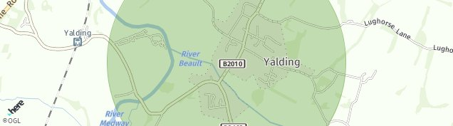 Map of Yalding