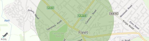 Map of Fleet