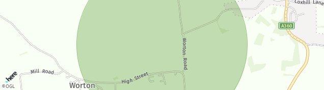Map of Worton