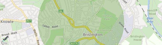 Map of Bristol