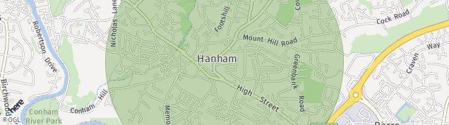 Map of Hanham
