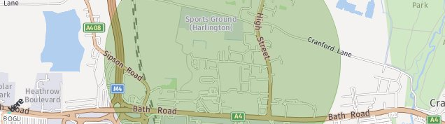 Map of Sipson