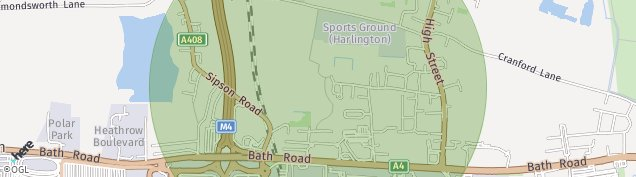 Map of West Drayton