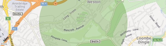 Map of Bristol