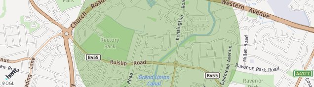 Map of Northolt